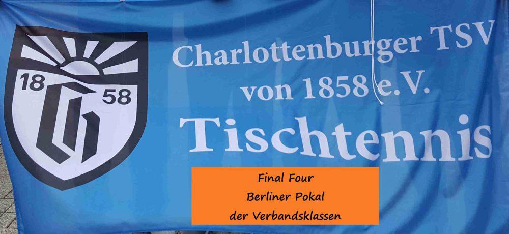 TSV beim Final Four Berliner Pokal der Verbandsklassen vertreten